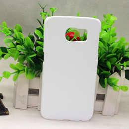 Wholesale 3d Cases For Galaxy S4 - DIY 3D Blank sublimation Case cover Full Area Printed For Samsung Galaxy s3 s4 s5 S6 S6 EDGE S7 A3 A5 A310 A510 J3 J5 J510 20PCS