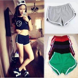 Wholesale Womens Casual Shorts Set - 10 Color American Womens Sport Woman Plus Size For Running Jogging Linen Short Set Femme Xl Fashion European Style Apparel