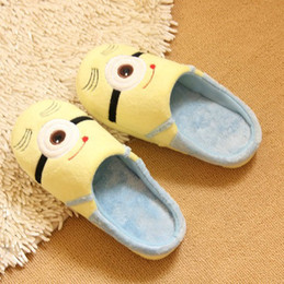 Wholesale Despicable Minion Shoes - wholesale Despicable Me 2 home slippers Precious Milk Dad floor slippers ladies shoes spring minion slippers