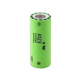 Wholesale Lithium Ion Car - Genuine high power car battery A123 26650 li-ion battery ANR26650M1B 3.3v 2500mAh for electric vehicle   golf car