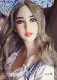 Wholesale Cheap Realistic Silicone Sex Dolls - Cheap Japanese lifelike full silicone sex dolls for men realistic vagina pussy real breast adults sex masturbator products
