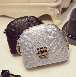 Wholesale Men S Diamond Chains - Wholesale-Women Bag Fashion Style Alligator PU Leather Diamond Lattice Solid Color Chains Bag Should Bag Messenger Bags  Yiten S-468
