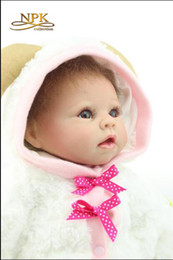 Wholesale Adorable Reborn Baby Girl - Hot Sale Simulation Reborn Baby Doll Sheep Baby Cute Adorable Pet Upscale Gift Toys For Children 55cm