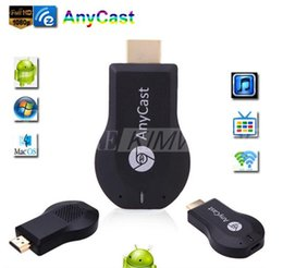 Wholesale Wifi Display Dongle - New Anycast M2 Plus DLNA Airplay WiFi Display Miracast Dongle HDMI Multidisplay 1080P Receiver AirMirror Mini Android TV Stick Better ezCast