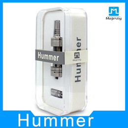 Wholesale Mega Wholesale China - 2015 China Manufacture Lowest Price Hummer Atomizer Supply rda Drip Tank Mega Tank 3.0ml Hummer with Temperature Control Coil