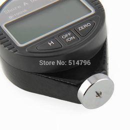 Medidor de goma online-Al por mayor-Portátil Shore A Durometer Tire Rubber 0 ~ 100HA Dial Scale Type A Digital LCD Display Medidor de dureza Tester