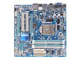 Wholesale Gigabyte Motherboard I3 - GA-H55M-USB3 Original Used Desktop Motherboard H55M-USB3 H55 LGA 1156 i3 i5 i7 DDR3 16G Micro-ATX