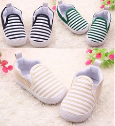 Wholesale Model Shoes Boys - 6%off!2015new arrival ,fashion models wholesale navy striped baby shoes for baby girls and Boys toddler shoes Infant,6pairs 12pcs
