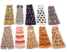 Wholesale Wholesale Toddler Socks - Baby Leg Warmer Leg Warmers infant Children's Socks leg warmer child socks Legging Tights Legging toddler baby's kneecap baby socks NK 38