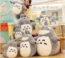 Wholesale Cute Japanese Plush Toys - Japanese Anime Miyazaki Hayao Cute Totoro Plush Stuffed Animal toy doll 20cm