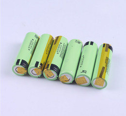 Wholesale Brand Tab - brand new NCR18650B 3400mah 18650 battery rechargeable with tabs 18650 3.7v battery with nickel strip tabs battery with pre-weld tabs