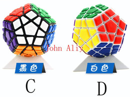 Wholesale Megaminx Cube - Free shipping Special Toys 12-side Megaminx Magic Cube Puzzle Speed Cubes Educational Toy Gift for kids Wholesale