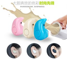 headphones small ears Promo Codes - Ultra-small Hidden Mini S530 Earphones Stereo Wireless Bluetooth V4.0 Headset In-Ear Light Stealth Earphone Earbud Headphones Handsfree Call