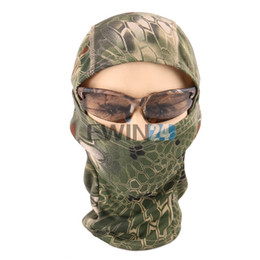 Wholesale Wholesale Ninja Motorcycle - Boa Style Tactical Airsoft Helmet Hunting Wargame Motorcycle Skiing Cycling Ninja Hunter Face Mask New and Hot Selling 500pcs