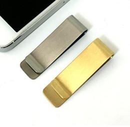Pince à billets en acier inoxydable Wallet Creative Pocket Wallet Designer Slim titulaire de la carte de crédit pour homme cadeau ? partir de fabricateur