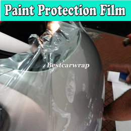 Wholesale Rear Protection - PPF 3 Layers Paint Protection Film Clear Vinyl For Car Protect Foil For Vehicle Paint protection film Size:1.52*15m Roll