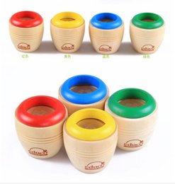 Wholesale Red Developments - Wholesale- 1 Pcs Random Color Wooden Toys Magic Kaleidoscope Baby Kids Learning Educational Puzzle Toy Classic Toys Early Development