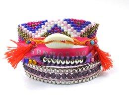 Wholesale Hipanema Magnet - Wholesale-Summer Style HIPANEMA Bracelet Multi Layered Brazilian Bracelet with Magnet Brazilian Jewelry Pulsera Brasiena Bracelet 2015
