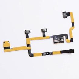 Volume de puissance flex en Ligne-pour iPad 2 CDMA Version Power On Off Bouton Volume Mute Switch Câble Flex Pièce de rechange