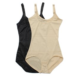 Wholesale Girdle Bodysuit - Wholesale-High Quality Sexy Women Bustiers Cincher Bodysuit Tummy Waist Girdle Belt Shapewear Body Control Underbust Corsets Shaper