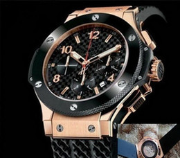 Wholesale Mm Racing - new luxury big bang brand new! Luxury men's steel mechanical sports style F1 racing watch, black   silver style Wristwatches