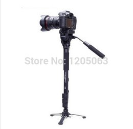 Canada Gros-Yunteng 288 monopode + support Unipod, trépied de photographie professionnelle pour Canon Eos Nikon DSLR, VCT-288 cheap wholesale eos Offre