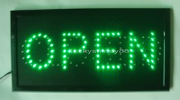 Wholesale Led Indoor Sign Open - 2016 wholesale business best selling custom open & closed neon signs indoor of open & closed led display