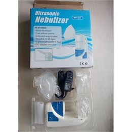 Wholesale Cheapest Ultrasonic Humidifier - Cheap Medical for kids and Adults Portable Ultrasonic Atomizer Household Inhaler Moisture Humidifier Device Inhalator Ultrasonic Nebulizer