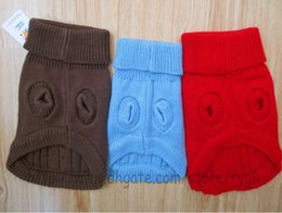 Wholesale Red Dog Christmas Sweater - new pet products Dog clothes colorful dog dog sweater pet sweater sweater Christmas dog clothes Autumn and winter dog clothes