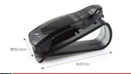 Wholesale Eyeglasses Holder Clip - (5 pieces lot) Fashion Smart Car Vehicle Sun Visor Sunglasses Eyeglasses Holder Clip Durable M12458