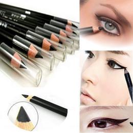 Wholesale Make Perfect Brush - 2PC Perfect Waterproof Longlasting Make Up Tool Maquiagem Maquillaje Eyeliner Eyebrow Eye Brow Pencil & Brush Makeup~NA434
