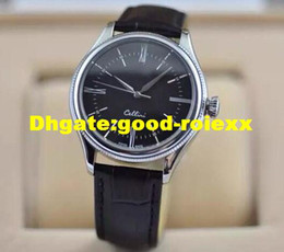 Wholesale leather hand straps - New Products Men's Watch Men Cellini Mens Business Leather Strap Watches