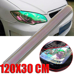 Wholesale Tinted For Car - Mayitr 120*30cm Transparent Car Styling Headlight Film Stickers for Car Lights Taillight Tint Vinyl Film Sheet Auto Body Sticker