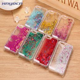 2016 chaud New Glitter Étoiles Dynamique Liquide Quicksand Étui Coque Rigide Pour iPhone 6 6 s 6 plus 5 s 4 4 s Transparent Téléphone Cas ? partir de fabricateur