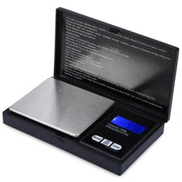 Wholesale Diamond Weighing Scales - LCD Electronic Scale 200g Capacity Pocket Digital Diamond Jewelry Medicine Weighing Device Digital Gram Pocket Scales Balance 200g Capacity