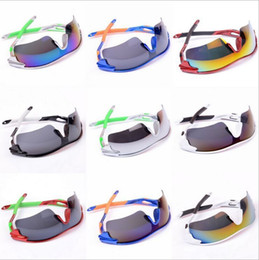 Substituição lentes para óculos de sol on-line-Mais novo Óculos de Sol Para Homens E Mulheres Preço de Fábrica Marca Designer de Ciclismo Óculos De Sol 2016 Lentes de Substituição Dos Homens Esporte Flip Up óculos de Sol