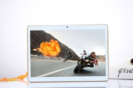 Wholesale Chinese 32g Tablet Pc - 10Inch Tablet PC Android 5.1 MTK IPS HD Octa Core 3G Tablet Phone 32G ROM 2G RAM SUPER slim 8mm Bluetooth GPS Dual sim card