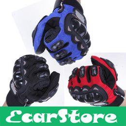 Wholesale-Cycling Bicycle Motorcycle Outdoors Sports Full Finger Protective Gear Racing Gloves Blue Black Red XXL XL L M supplier motorcycle gloves blue от Поставщики перчатки для мотоциклов синие