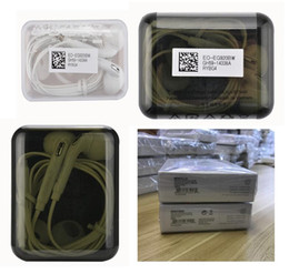 Wholesale Iphone Original Packaging - OEM Original A++++ Quality 3.5mm Headset In Ear Headphones With Remote And Mic for samsung s6 s7 s8 note5 6s 6splus 5s with Retail Package