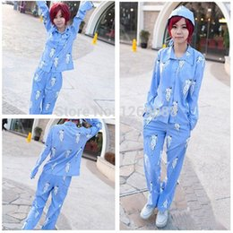 Wholesale Shingeki Kyojin Rivaille - Attack On Titan Shingeki No Kyojin Rivaille Cosplay Unisex Pajamas Costumes Suit Shirt + Pants + cap three-piece suit