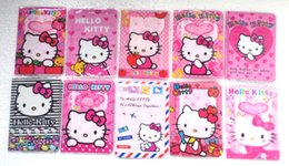 Wholesale Passport Cover Cute - New Sale 10 Pcs lot Hello Kitty 10 Style Travel Accessories Cute hello kitty Pattern Passport ID Card Covers Holder Case