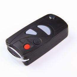 Wholesale nissan maxima car - New 4 Button Uncut Remote Flip Folding Car Key Fob Case Shell for 2000 2001 2002 2003 Nissan Sentra Maxima Replacement NHVWBU43 Key FOB