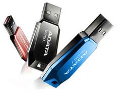Wholesale Mini Usb Flash Memory Drive - For NEW ADATA UV100 64GB 128GB USB 2.0 Flash Memory mini Drive Stick Drives Sticks Pendrives Thumbdrive Disk 80pcs