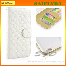 Wholesale Dollar Iphone Case - new Wallet Leather Case For iPhone 6 4.7'' for iPhone 6 Plus 5.5'' Soft leather Stand Cover Credit Card Cash Dollars Slot factory price