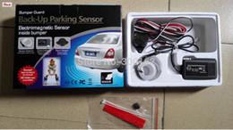 Wholesale Electromagnetic Parking Sensor Easy - auto electromagnetic no holes need easy install Bumper guard back-up Car parking sensor