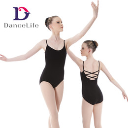 Wholesale Ballet Leotards Women - Free shipping Adult new strapy ballet leotard wholesale Dancewear supplier China discount ballet dance wear A2058