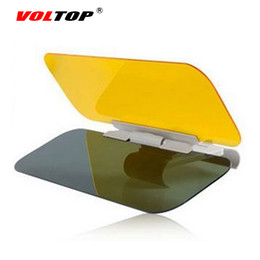 Wholesale Eye Sun Visors - VOLTOP HD Car Sun Visor Goggles For Driver Day Night Anti-dazzle Mirror Clear View Dazzling Goggles Eyes Protector Sunshade