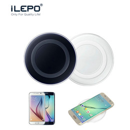 Wholesale Galaxy Portable Chargers - QI Wireless Pad Charger Tablet Wireless Fast Charging Portable For Phone Samsung Galaxy S7 Plus S7 Edge Note 8 NOKIA With Retail Box