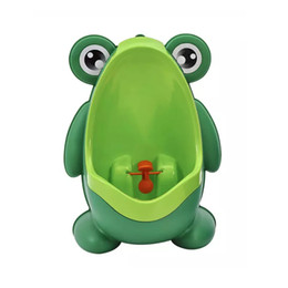 Wholesale Pee Potty - Frog Children Potty Toilet Training Kids Urinal For Boys Pee Trainer Portable Wall-hung Type