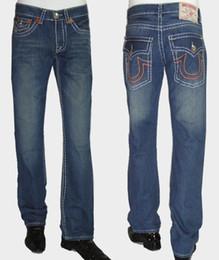 Wholesale Tr Jeans - Men's Size Motorcycle Biker Denim For Men Brand Hip Hop Supplies Wholesale U.S.A TR Religion Man Fashion  TR Male Jeans